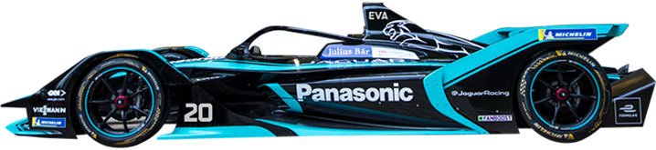 Formule E PANASONIC JAGUAR RACING