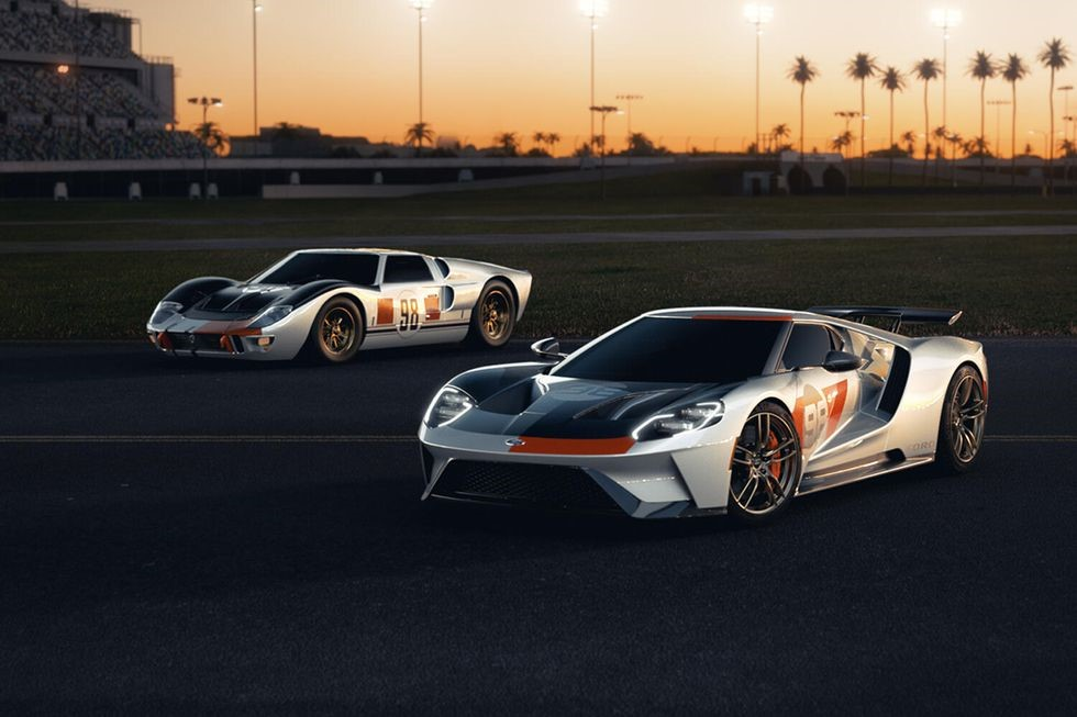 Ford GT40 a Ford GT Heritage